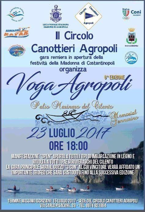23 luglio – Voga Agropoli 2017- Palio marinaro del Cilento